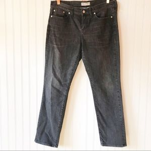 Madewell gray black slim boy jean 30